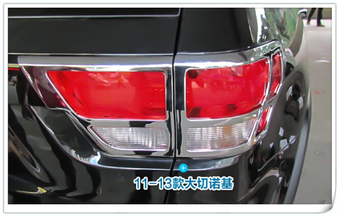 Free shipping!High quality  2pcs rear lamp protective trim, taillight cover,taillight trim for Jeep Grand Cherokee 2011-2015<br><br>Aliexpress