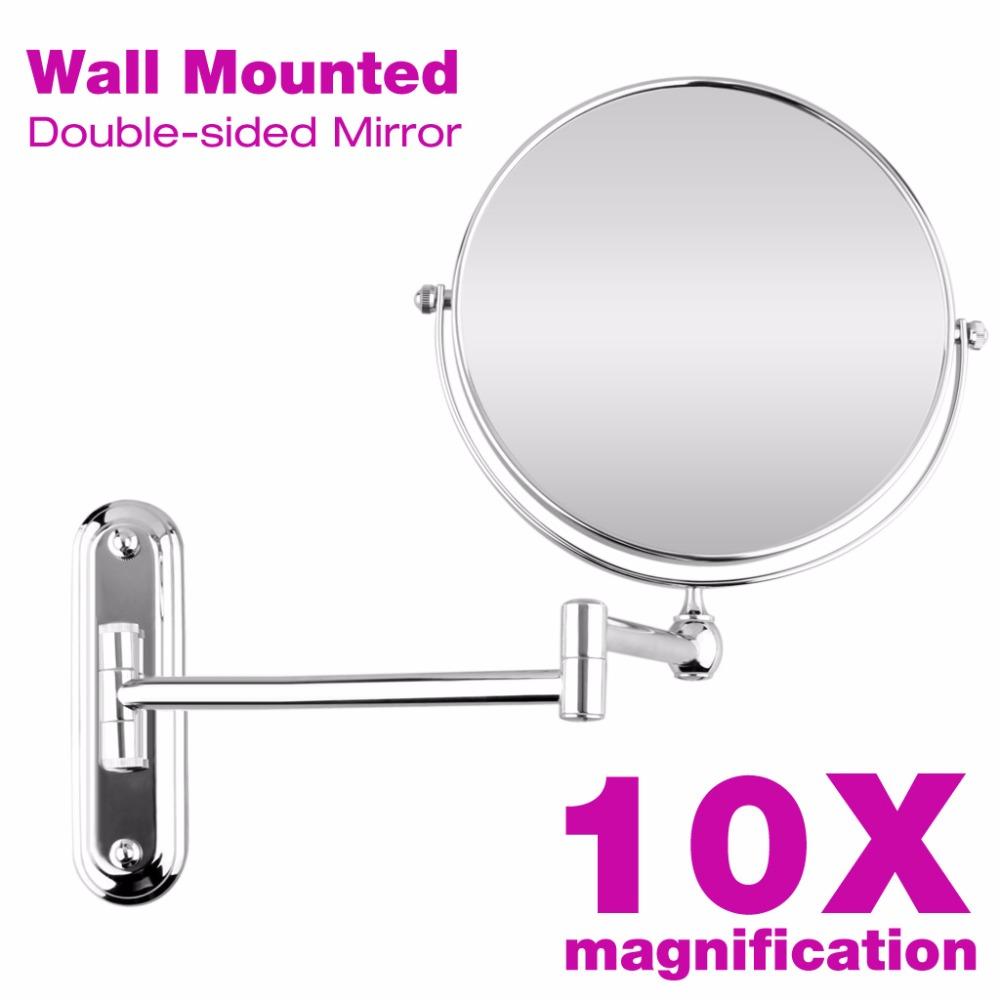 Bathroom magnifying mirror