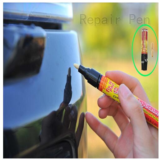 50 PCS Portable Fix It Pro Clear Car Scratch Repair Remover Pen Simoniz clear coat applicator Wholesale(China (Mainland))