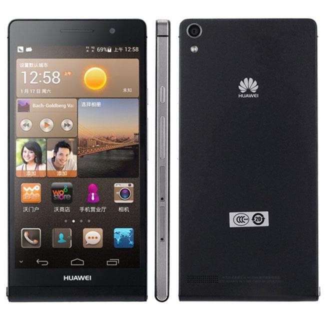 Huawei Ascend P6 U06 / P6S 4.7'' Quad Core Mobile Phone Android 4.2 GPS WIFI 2GB RAM Google Play Store Multi Lanugage Original(China (Mainland))