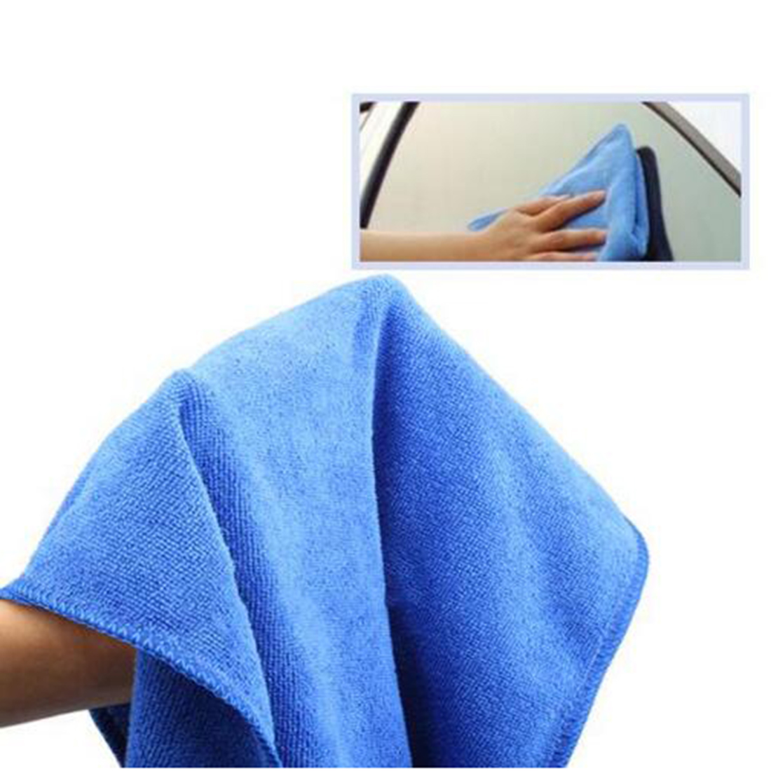Microfiber Towel Super Water Car Wash Drying Soft Dry Cleaning Absorbant Cloth Random Color(China (Mainland))