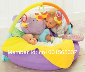 In Stock 1Pcs/Lot Free Shipping ELC Blossom Farm Sit Me Up Cosy-Baby Seat Sheep Play Mat/Small Baby game pad Come with Pump