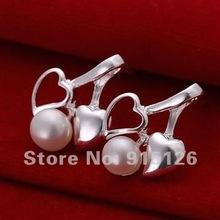 Free Shipping 925 silver  wholesale fashion jewelry earring 925 silver earrings fura olya xdha LQ-E103(China (Mainland))