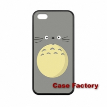 Samsung S2 S3 S4 S5 S6 S7 edge HTC One X S M7 M8 mini M9 Plus Desire 820 Moto X1 Silicon Painting Totoro Caes Cover - My Phone Cases Factory store