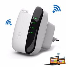 300Mbps WiFi Repeater Network for AP Router Range Signal Expander Booster Extend Amplifier Dual Port Wireless Hot Sale(China (Mainland))
