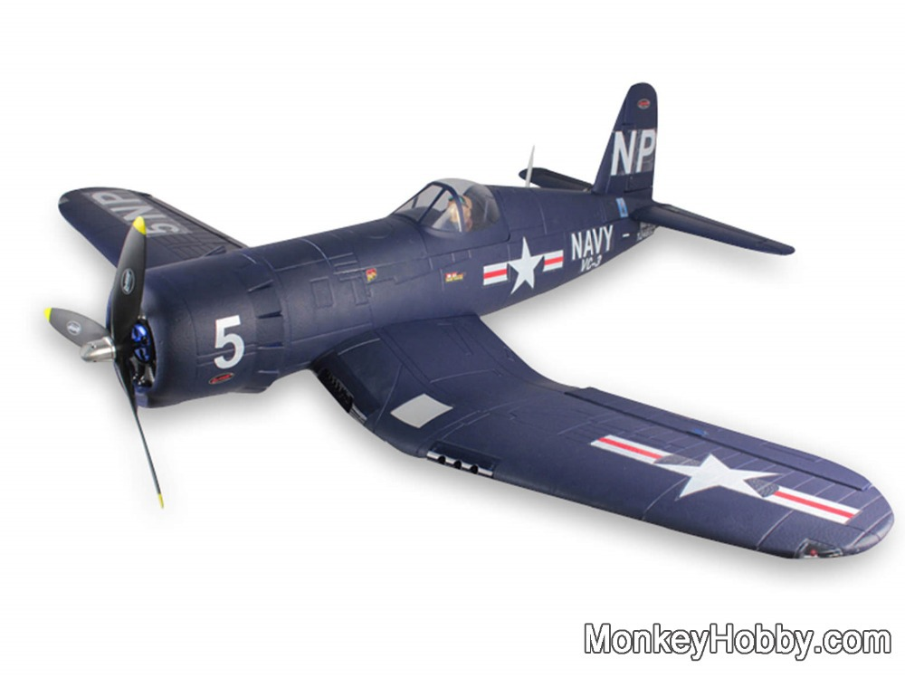 Dynam Rc Airplane 5 Channel F4u Corsair 1270mm 50