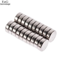 2016 New 20pcs x neodymium permanent magnet 3x1mm N35 Strong permanent magnetic nickel mini magnets 68Q(China (Mainland))