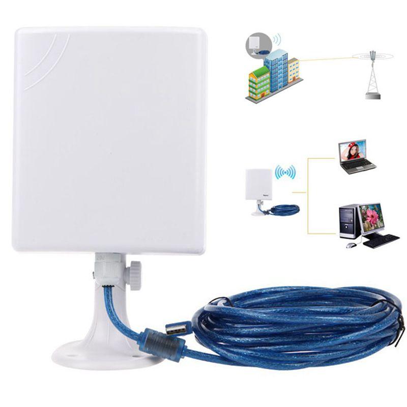 Hot Sale Wireless Usb LAN Adapter 2.5KM High Gain Outdoor Waterproof 150M USB Wireless Wifi Adapter(China (Mainland))