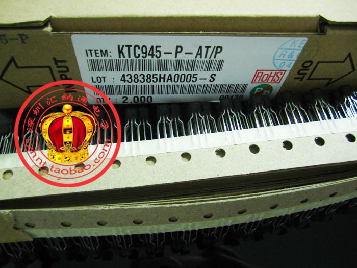 C945 TO-92 (equivalent to 2SC945) KTC945 transistor new original(China (Mainland))