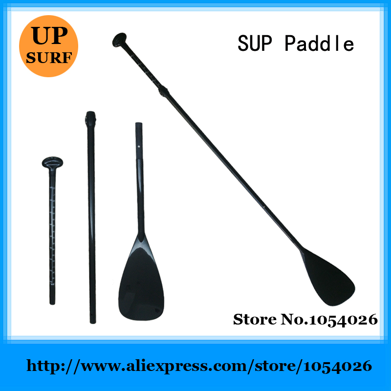 Free Shipping 100% Carbon Fibre SUP Surf Paddle Carbon Paddle Stand Up Surfboard Paddle(China (Mainland))
