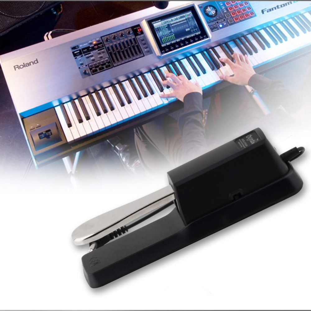 WTB-005 Piano Keyboard Sustain Pedal Damper for Casio Yamaha SPEDIZIONE TRACCIABILE New Brand(China (Mainland))