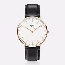 Top Brand!High Quality Daniel Wellington Watches dw women and men Leather nylon Strap / new luxury brand rosegold quartz watch