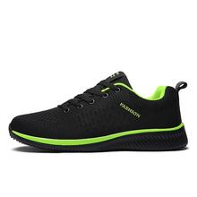 2018 新メッシュ男性カジュアルシューズラック靴軽量快適な通気性ウォーキングスニーカー Tenis Feminino Zapatos(China)