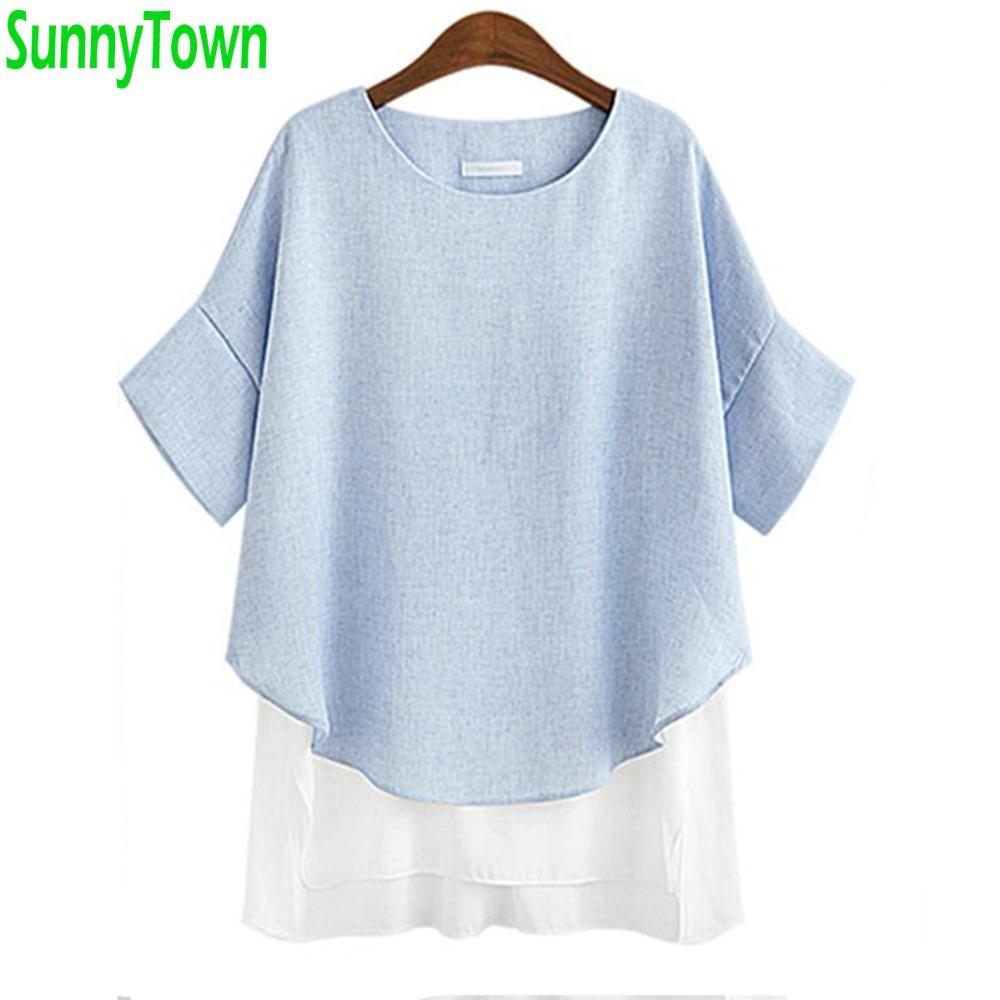 Ebay linen blouses collar blouses for Womens linen shirts blouses