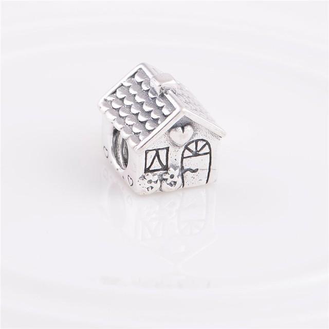 Подходит пандора браслет DIY создание аутентичные стерлингового серебра 925 оригинальный бусины любовь шарм женщины ювелирные изделия бесплатная доставка