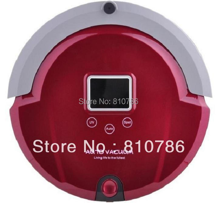 4 In 1(Sweep,Vacuum,Mop,Sterilize) Multifunctional Robot Vacuum Sweeper With UV lamp,Self-Recharging,LCD Touch Button,Schedule(China (Mainland))