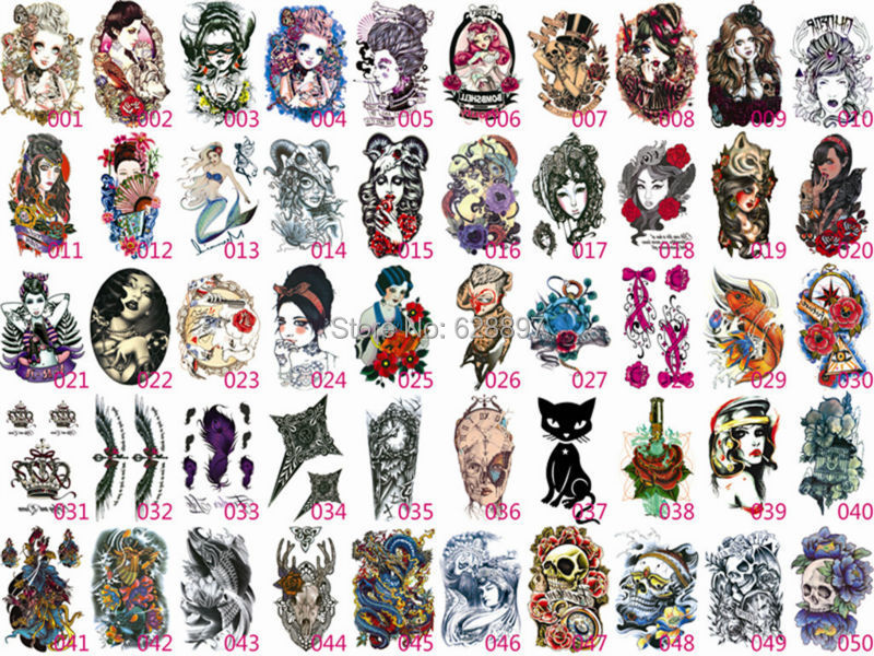 Tattoo Stickers Body Art Europe Style Picture In Temporary Tattoos