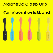 Magnetic Silicone Clasp Clip Pocket Clip Replacement Holder Cover for Xiaomi Mi Band 1A 1S Plus