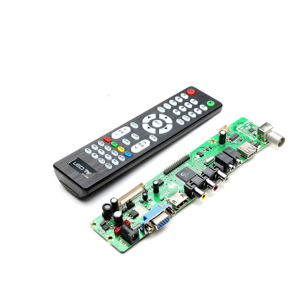 V56 Universal LCD TV Controller Driver Board PC/VGA/HDMI/USB Interface Modules Board(China (Mainland))