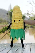 Plush vegetable doll 1pc 50cm creative cute corn maize cartoon hold pillow children prize girl gift stuffed toy