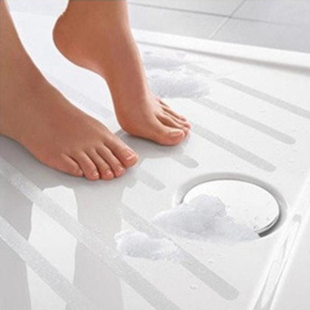 6/12pcs Anti Slip Bath Grip Stickers Non Slip Shower Strips Pad Flooring Safety Tape Mat Applique Stickers Bath Tub Shower(China (Mainland))