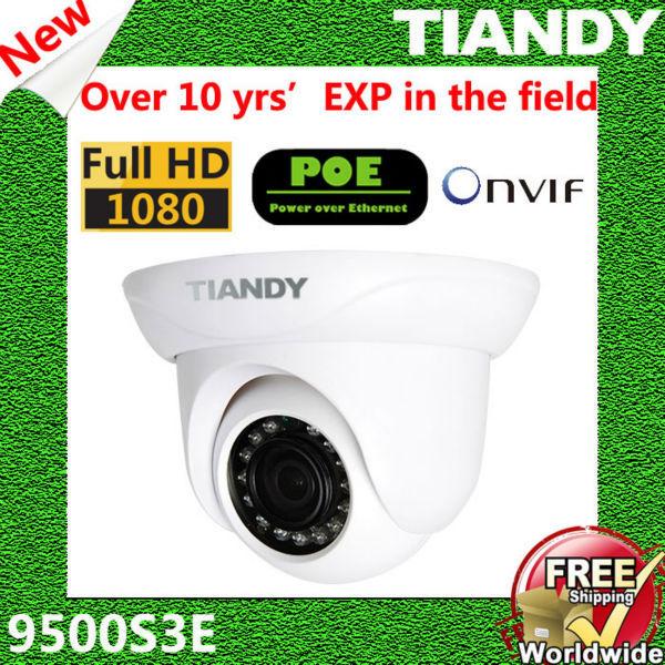 TIANDY 9500S3E CCTV IP Camera Surveillance Video Surveillance System POE IP Camera POE Onvif 960p Dome Cameras Outdoor(China (Mainland))