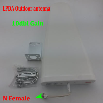 800-2500Mhz Outdoor Antenna 3G GSM Outside Directional LPDA Antenna for Signal Booster Repeater(China (Mainland))