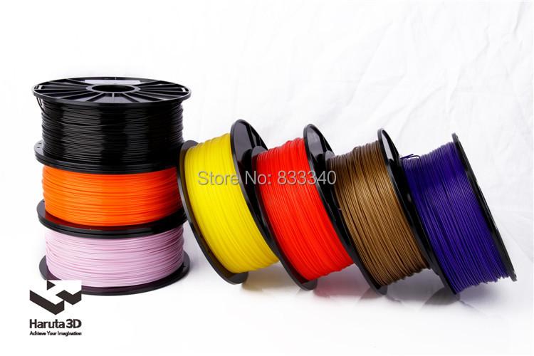 Premium Free Shipping 12 pcs/lot 3D printer filament  PLA ABS 1.75mm 3mm 1kg/2.2lbs NW Consumable Material 3D Printer Supplies<br><br>Aliexpress