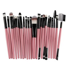 Buy 22PCS Makeup Brushes Set Pro Powder Blush Foundation Eyebrow Eyeshadow Eyeliner Lip Cosmetic Brush Kit Beauty Tools Maquiagem YO for $4.45 in AliExpress store