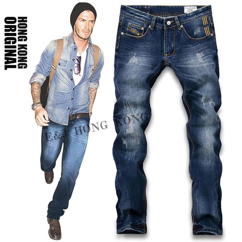 high quality2015 new fashion designer mens jeansitaly