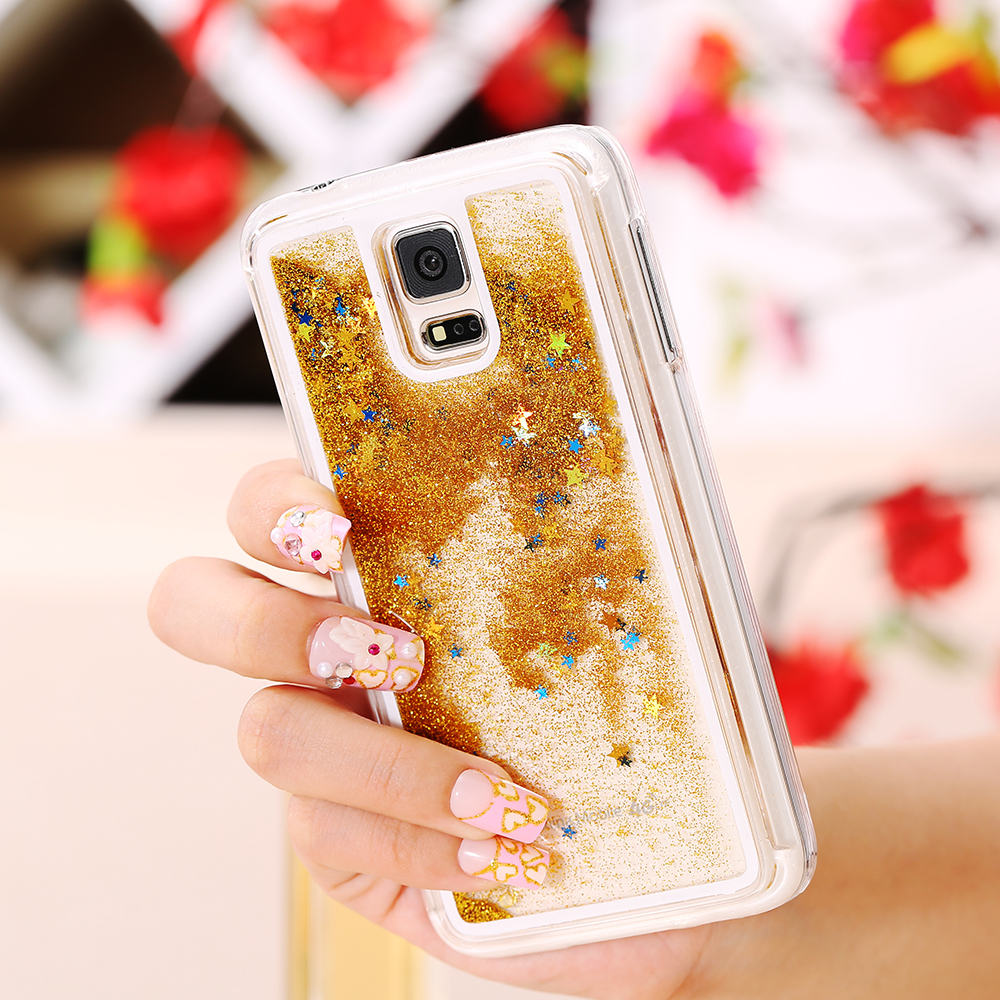 s6s5note 4 women girl cases glitter star bling case for