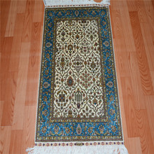 Hand Knotted Persian Carpets In Stock 2x3ft Handmade Silk Rug For Hotel ,Home Use(China (Mainland))