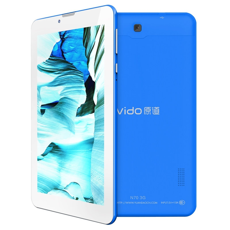 Original Vido N70 MTK8312 Dual Core 1.2GHz 512MB+4GB Black 7.0 inch 3G + Voice function Android 4.2 3G Tablet PC Dual SIM(China (Mainland))