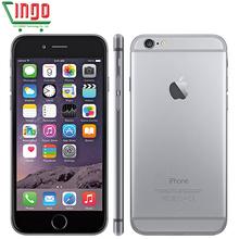 Apple Unlocked Original iphone 6\iphone 6 Plus 16/64/128GB ROM 1GB RAM 4.7 & 5.5 screen ios9 phone 8MP/Pixel LTE Mobile Phone(China (Mainland))