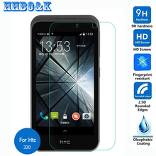 Htc Desire 510 320 Tempered Glass Screen Protector 0.3mm 2.5D 9h Safety Protective Film D320 Na D510 4G Lte A11 - Shenzhen Inpet store