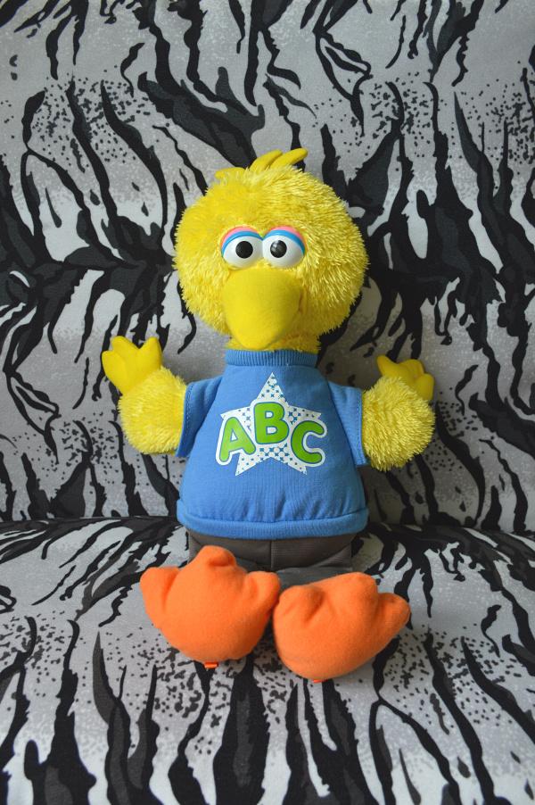 free shipping 33cm sesame street muppet big birds plush stuffed toys for children action figure plush dolls kids toys kawaii1038(China (Mainland))