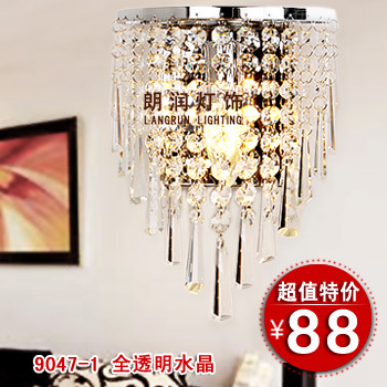 Crystal wall lamp red purple ofhead lighting aisle lights balcony lamp stair lamp mirror lamps 9047<br><br>Aliexpress