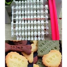 Buy 1set 26 A-Z Alphabet Letter + Symbol Stamp Biscuit Cookie Embosser Mold DIY Decorating Tools Small Size Cake Baking Tools for $1.24 in AliExpress store