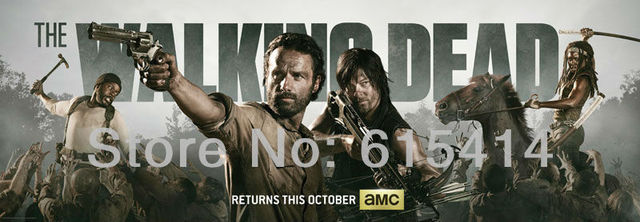 "05 The Walking Dead Season04 S04 hot TV show 69""x24"" inch wall Poster with Tracking Number"