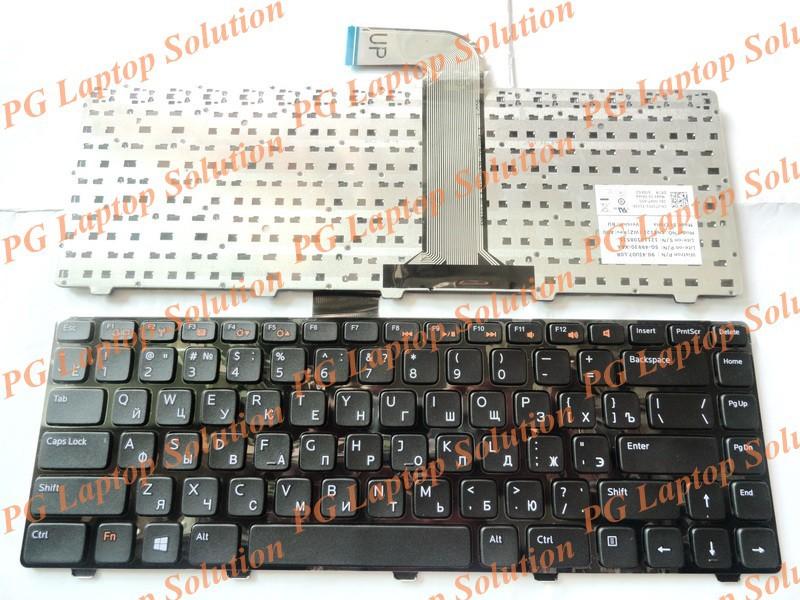 Russian Keyboard for Dell Inspiron 14R N4110 M4110 N4050 M4040 N5050 M5050 M5040 N5040 XPS15 X501L l502 X502L P17S P18 RU Black(China (Mainland))