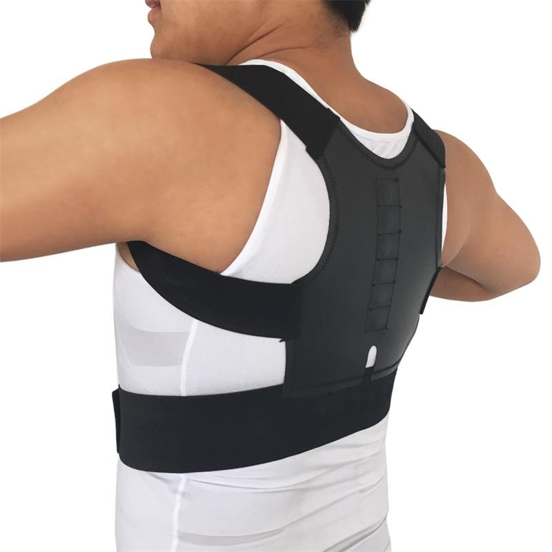 Sport safety Back Shoulder Posture Corrector Back Support Straighten Out Brace Belt Orthopaedic Adjustable Unisex Health(China (Mainland))