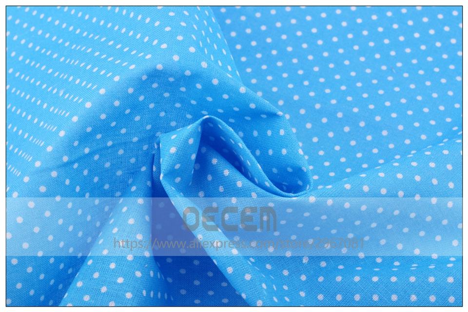9 шт./лот Радужный цвет тонкая хлопковая ткань в горошек с принтом толстая aeProduct.getSubject()