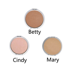 Makeup Highlight Face Bronzers  Shimmer Face Pressed Powder Make Up Foundation Palette Cosmetic(China (Mainland))