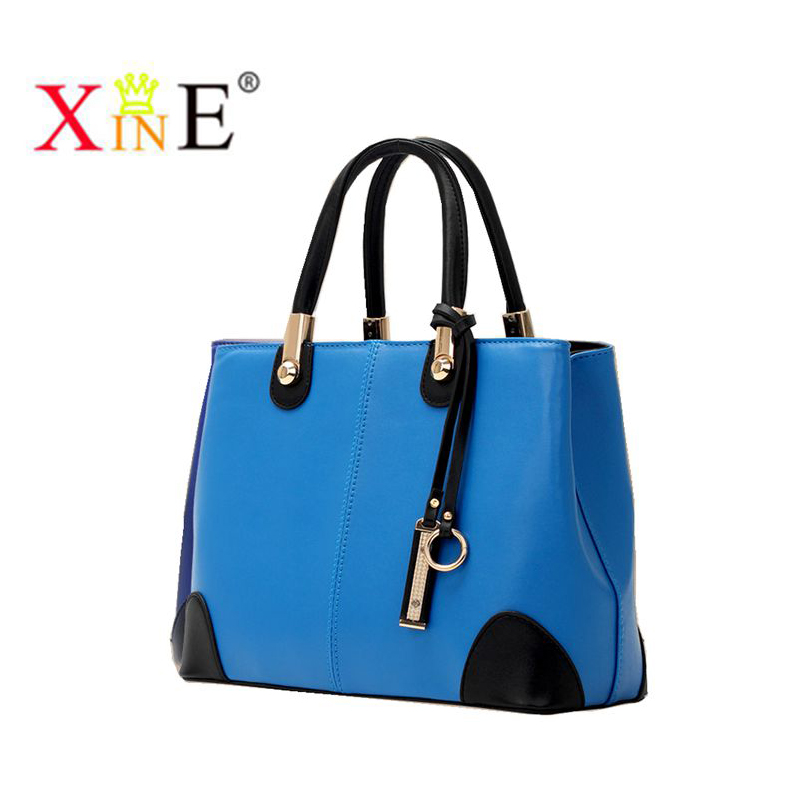 2015 New Genuine Leather women handbags Women Fashion&Casual Bag Women Shoulder Messenger Bag