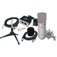 Профессиональный конденсаторный микрофон комплекты для музыкальной студии и записи на экономическую цену с алюминиевой чехол