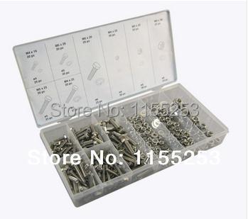 Гаджет  475pc Hardware Stainless Steel Metric Nut & Bolt Kit/Assortment/Set None Аппаратные средства