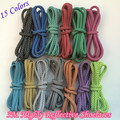 On Sales Weiou Round Rope 3M Reflective Runner Shoe Laces Visible Safty Shoelaces Shoestrings 15 Colors