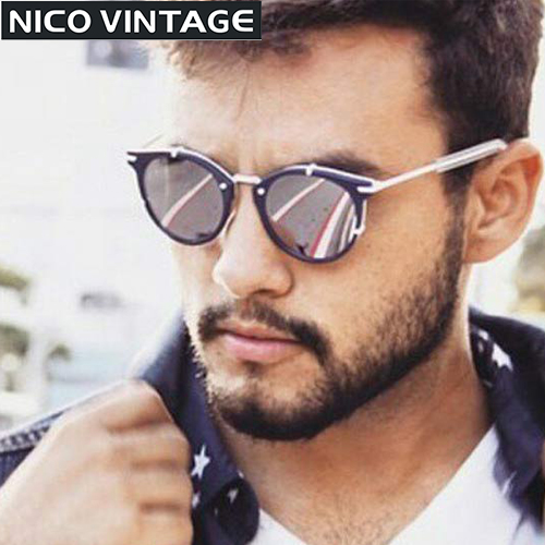Polarized Round Sunglasses Men Luxury Brand Vintage Male Lunette UV400 Protection Mens Shades High Quality Sun Glasses For Men(China (Mainland))