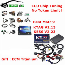 Full Set V4.036 KESS V2 OBD2 Manager Tuning Kit V2.23 + V6.070 K-tag ECU Programming Tool V2.13 , KESS KTAG No Tokens DHL Free(China (Mainland))