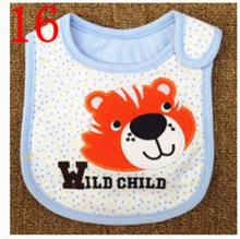 Baby Bibs Cotton Bandana Bibs Infant Babador Saliva Bavoir Towel baberos bebes Babadores Newborn Baby Girls Boys 2pcs/lot  xwd16